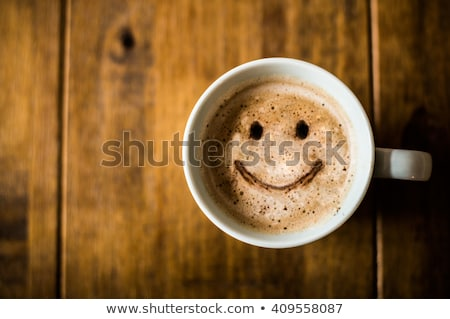 Coffee and happiness. Stock photo © Fisher