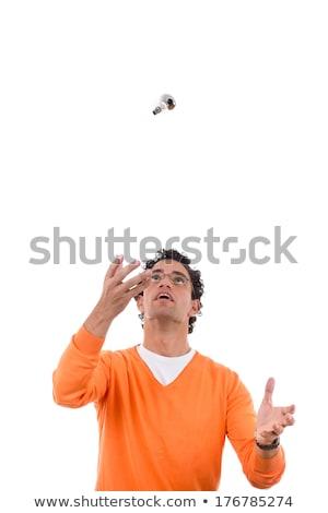 человека воздуха очки работу Сток-фото © feelphotoart