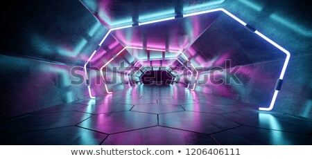 futuristic tunnel Stock photo © ssuaphoto