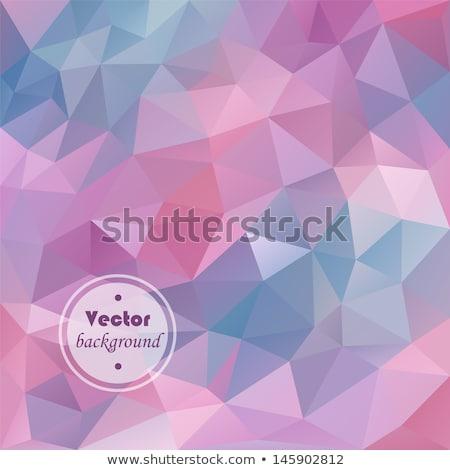 抽象的な ピンク ライラック デザイン カード ポスター ストックフォト © aliaksandra