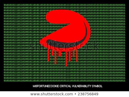 sfortuna · cookie · critico · vulnerabilità · router · problema - foto d'archivio © slunicko