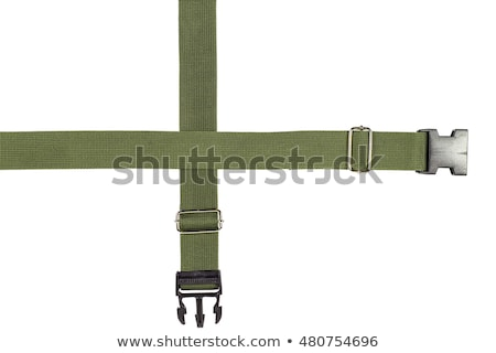 Textiles tejido cinturón blanco moda metal Foto stock © FOKA