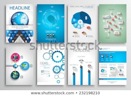 Statystyczny koncepcje wektora twórczej projektu Zdjęcia stock © -Baks-