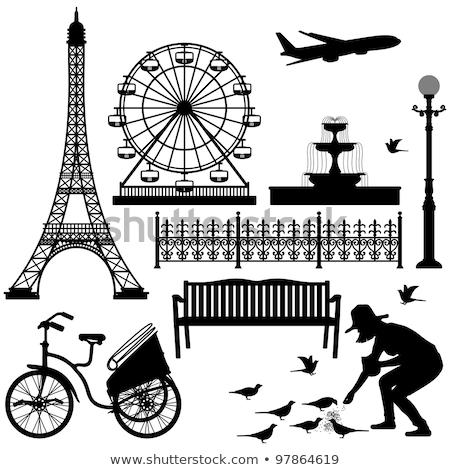 roue de paris stock photo © joyr