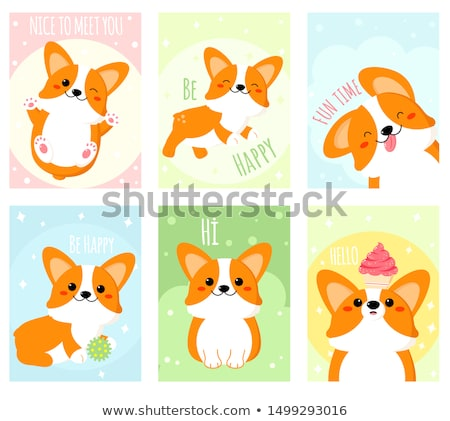 Hi dear , how are you ? Stock photo © stockyimages
