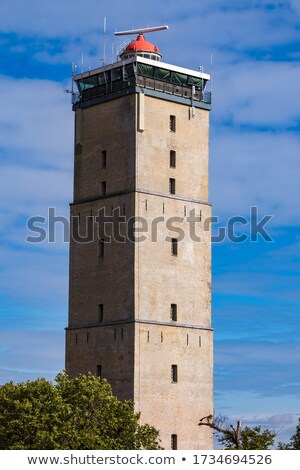 village · Pays-Bas · phare · île · paysage - photo stock © ivonnewierink