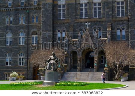 heykel · üniversite · Bina · mimari · kule · araştırma - stok fotoğraf © rmbarricarte