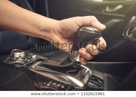 Technological Change on Black Gear Shifter. Stock photo © tashatuvango