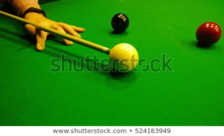 köşe · bilardo · masası · cep · havuz · punk · oynamak - stok fotoğraf © njnightsky