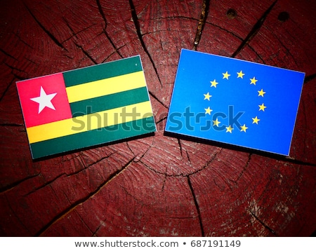 European Union and Togo Flags  Stock photo © Istanbul2009