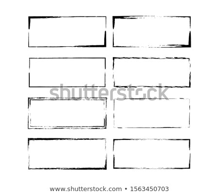 grunge retro style abstract ink frame stock photo © lizard
