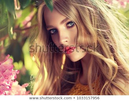 verbazingwekkend · jonge · sexy · blond · meisje · poseren - stockfoto © victoria_andreas