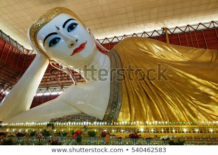 Reclining Buddha in Myanmar Stock photo © smithore