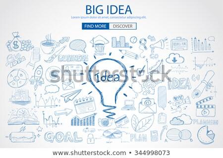 ビジネス ブレーク いたずら書き デザイン スタイル ストックフォト © DavidArts