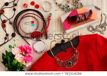 Dama ropa colorido primavera mujeres Foto stock © netkov1