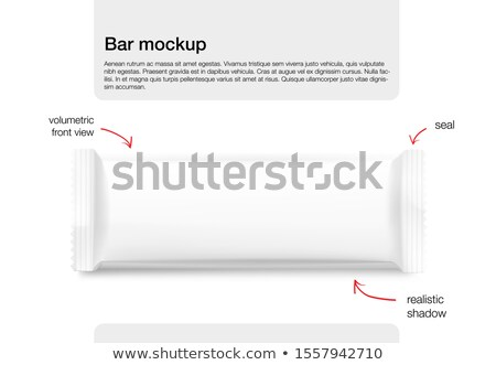 Blank sachet packaging Stock photo © magraphics