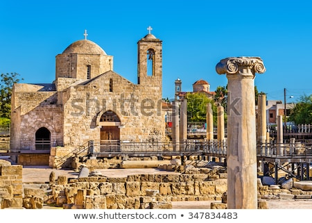 Panagia Chrysopolitissa Basilica. Paphos, Cyprus Stock photo © Kirill_M