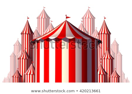 Circus Tent Group Element Stock photo © Lightsource