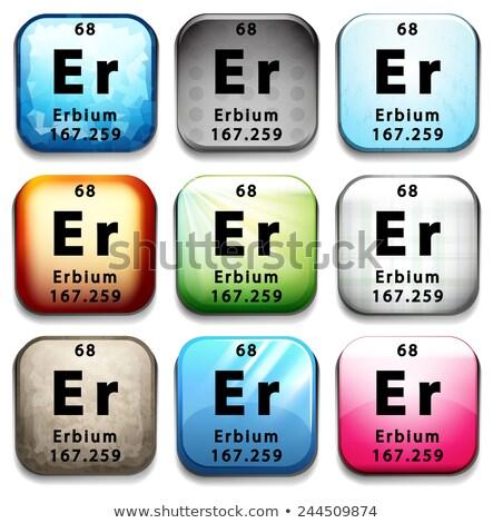Eğitim beyaz kimya grafik Stok fotoğraf © bluering