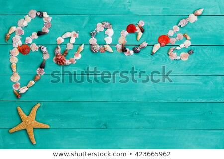 legno · segno · spiaggia · punta - foto d'archivio © ozgur