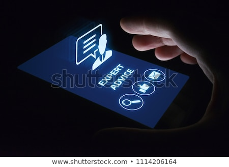 Expert Advice Stock photo © Lightsource