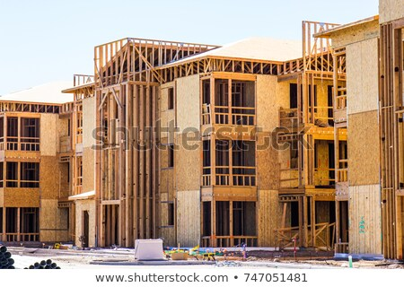 a three story building stock photo © bluering