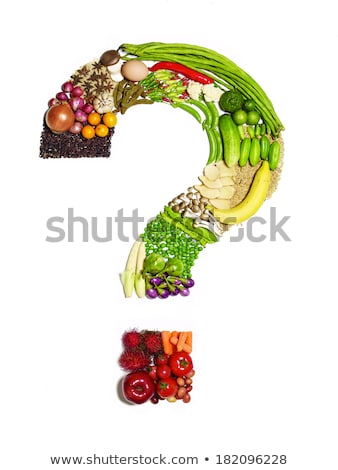 healthy food question stock photo © lightsource