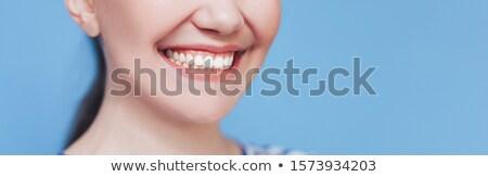 zahnärztliche · Klinik · logo · Vorlage · menschlichen · Zahn - stock foto © adamson