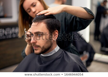 client and stylist stock photo © dashapetrenko