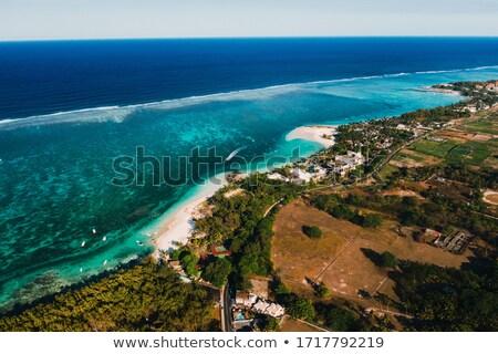 marinha · água · garfo · Maldivas · recorrer - foto stock © freesurf