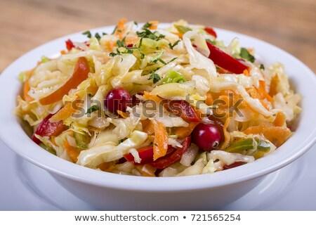 sauerkraut, white cabbage Stock photo © M-studio