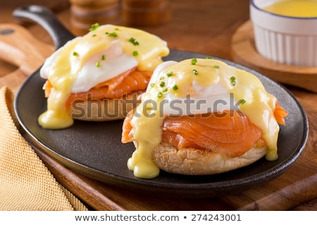 uova · salmone · tostato · alimentare - foto d'archivio © karaidel