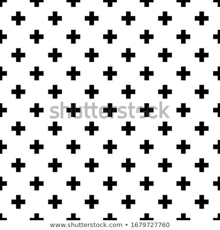 Cruces vector imagen resumen médicos diseno Foto stock © vectorworks51