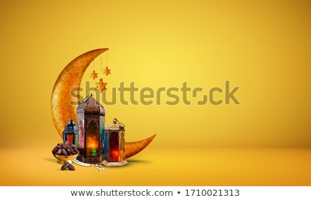 islamic eid festival golden background Stock photo © SArts
