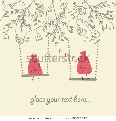 結婚式 カップル 祝う 音符 実例 女性 ストックフォト © colematt