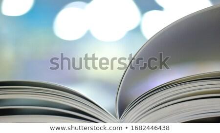 новых открытой книгой книга школы Сток-фото © OleksandrO