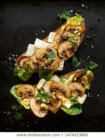 カマンベール · チーズ · 焼き · 新鮮な · 野菜 - ストックフォト © peteer