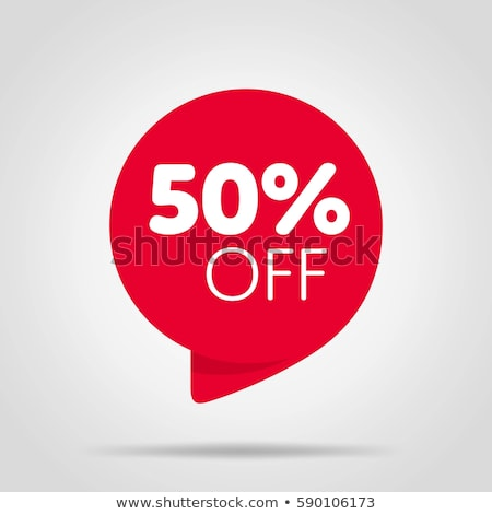 Discount Labels with Promo Prices Vector Templates Stock photo © robuart