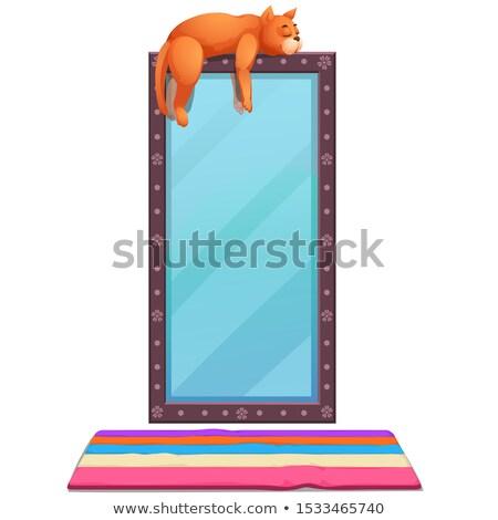 Mexikói izolált fehér vektor rajz közelkép Stock fotó © Lady-Luck
