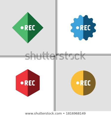 colorido · brilhante · botão · vídeo · ilustração - foto stock © Blue_daemon