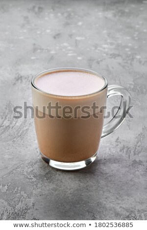 Chaud cappuccino Homme mains Photo stock © pressmaster