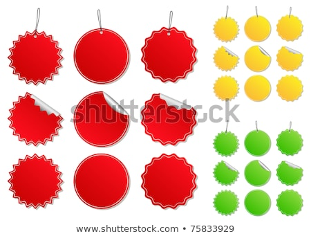 Kleurrijk knop winkelwagen illustratie Stockfoto © Blue_daemon