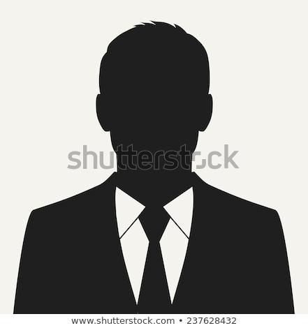 férfi · sziluett · álláskeresés · vektor · ikon · vékony - stock fotó © pikepicture