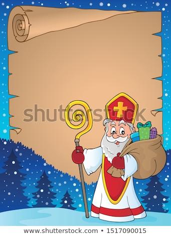 Saint Nicholas topic image 7 Stock photo © clairev