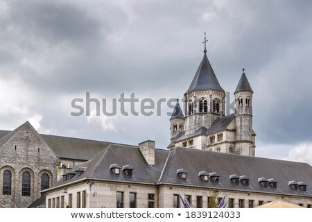 Nivelles Abbey, Belgium Stock photo © borisb17