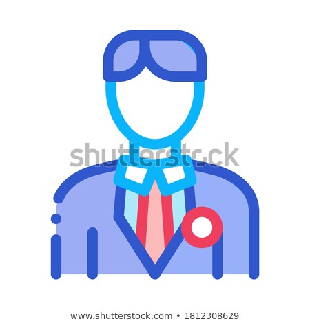 Candidate Appearance Icon Vector Outline Illustration Stock photo © pikepicture