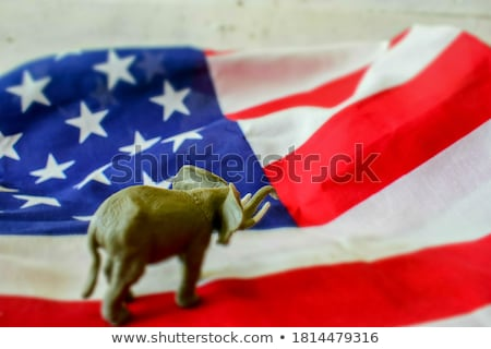 Cartoon party elephant Stock photo © bennerdesign