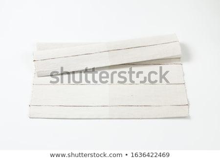 Blanche coton lieu Photo stock © Digifoodstock