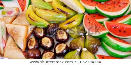 Assortment of marzipan sweets Stock photo © photosil