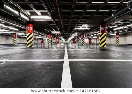 Inside of underground garage interior Stock photo © amok